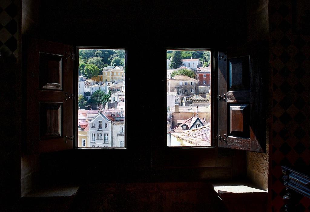 Sintra Through a Window 1