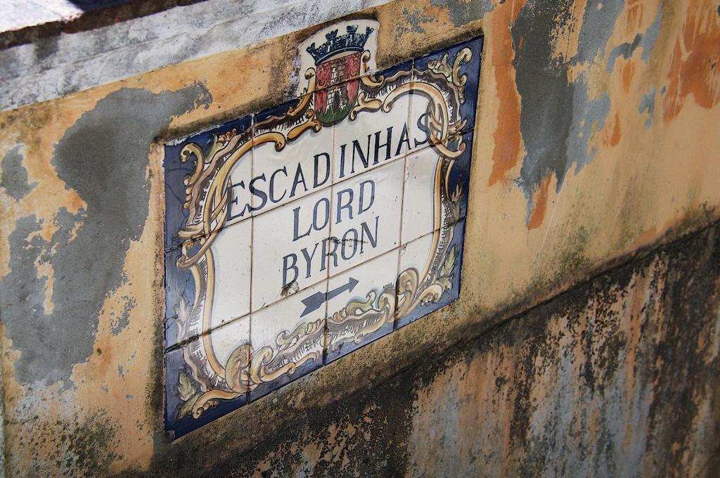 Rua Lord Byron Lisbon