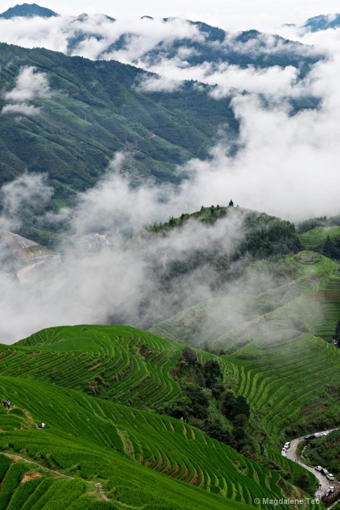 Guilin Landscape in Portrait