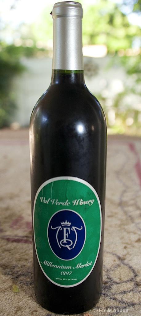 "Val Verde Winery ""Millennium Merlot 1997"""