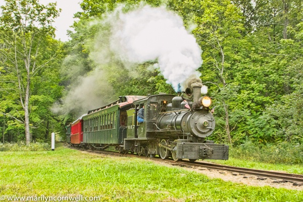 Sandy River Steam Drive-By