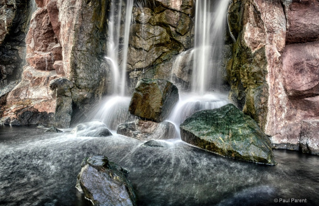 The small water falls