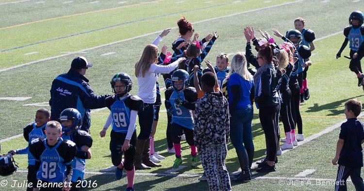 Panthers Win Celebration