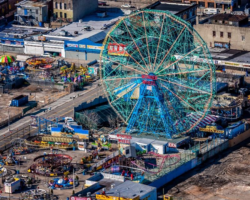 Wonder Wheel Coney Island  1761