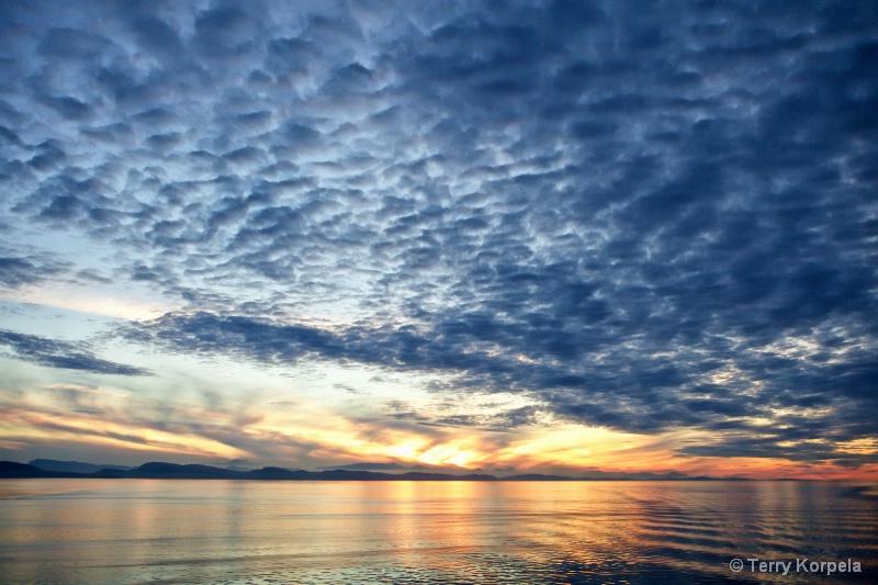 Vancouver B.C.  Sunset