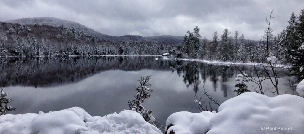 The Quiet Winter Scene