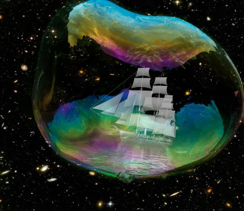 Boat in a Bubble