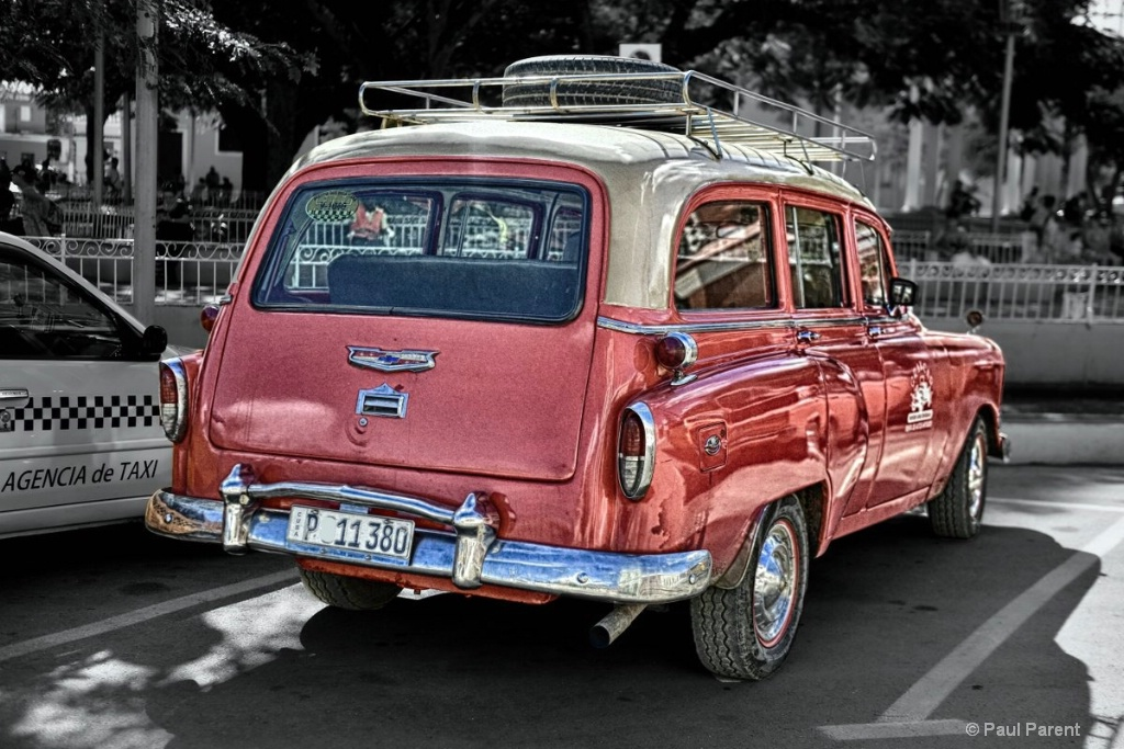 The Old Cuban Car