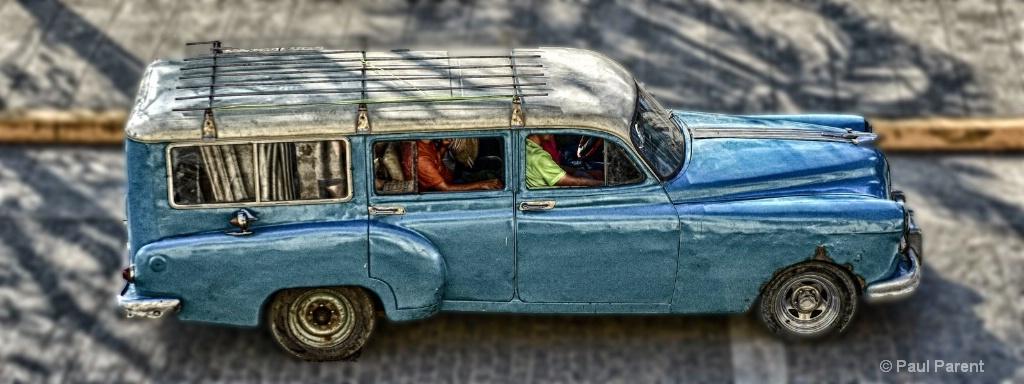 A simple old Car