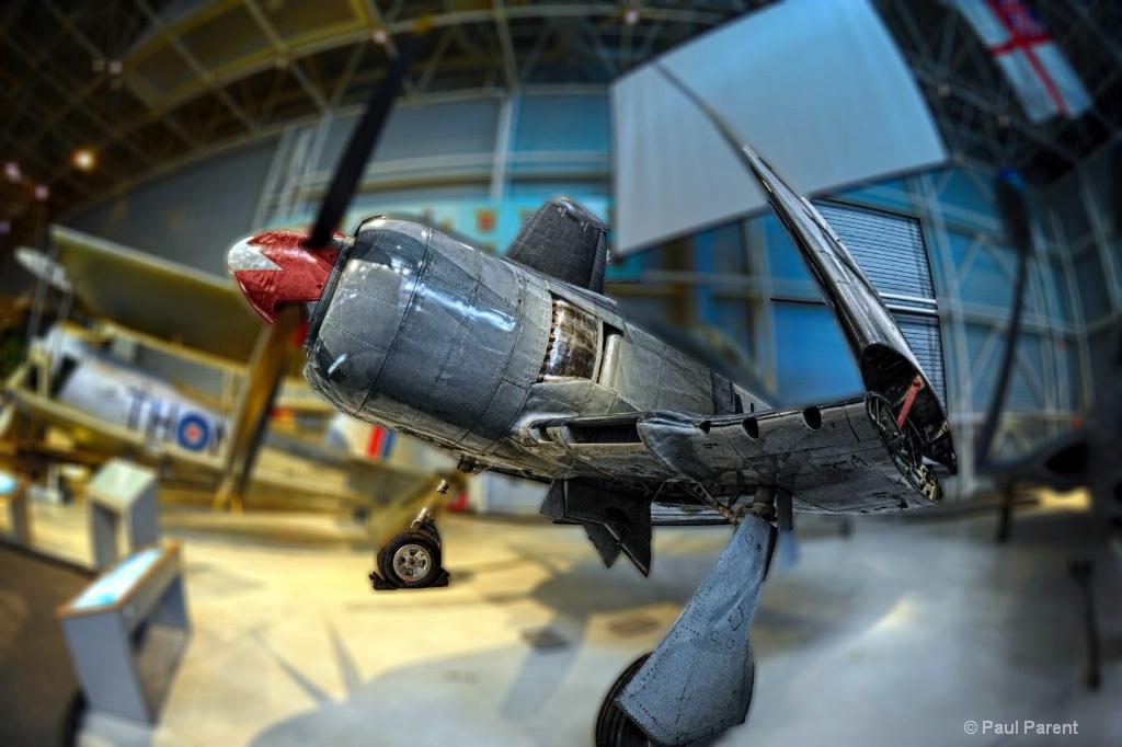 The Ottawa Museum Old Plane