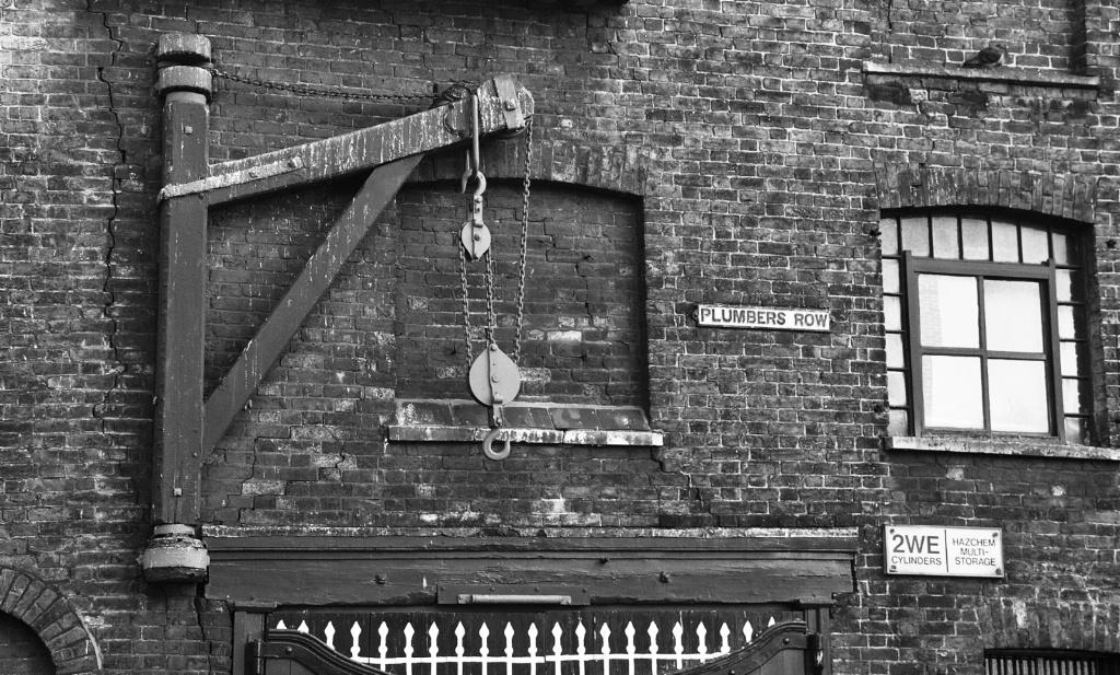 Plumbers Row and window