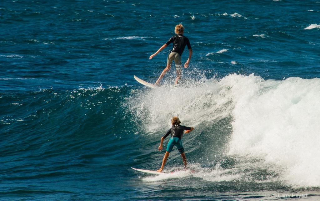Double Decker-  Ho'okipa Beach, Mau