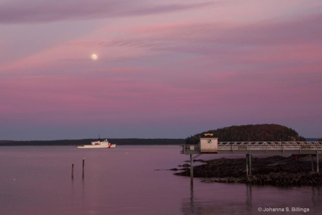 Moon Over Bar Harbor II