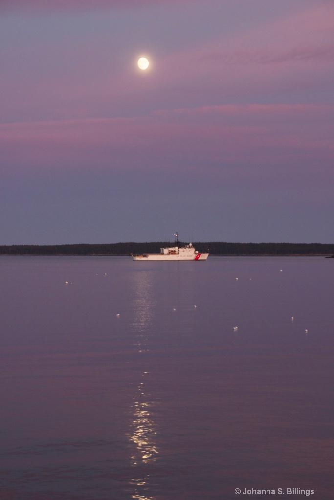 Moon Over Bar Harbor
