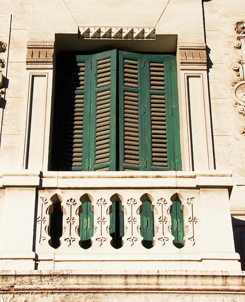An Old Madrid balcony