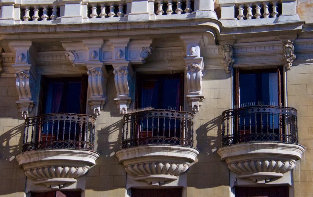 Trio Balconies in Madrid