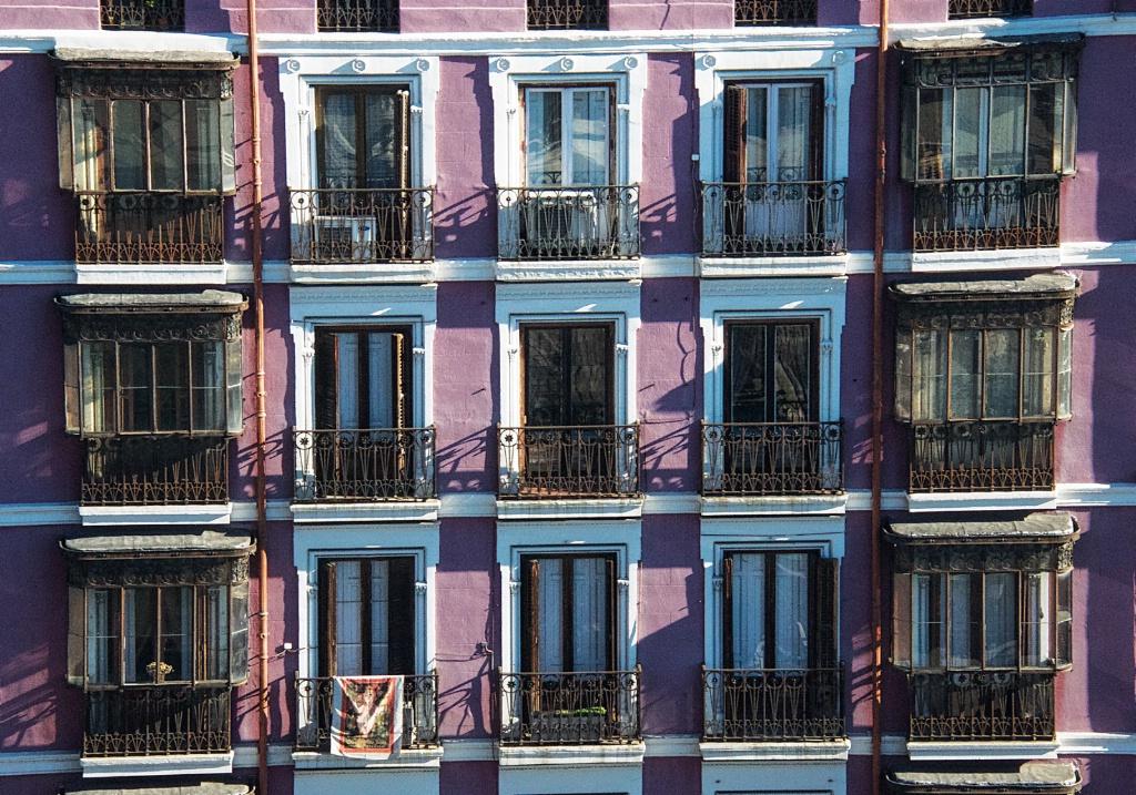 Balconies in Madrid 1
