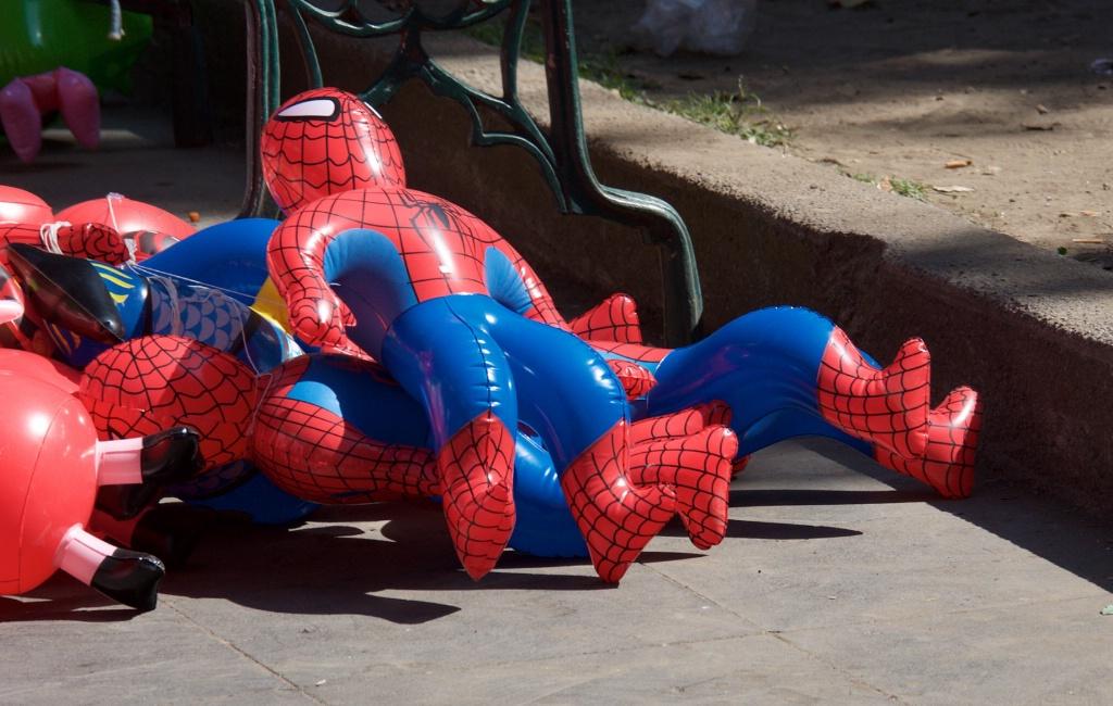 Spider Man Baloon