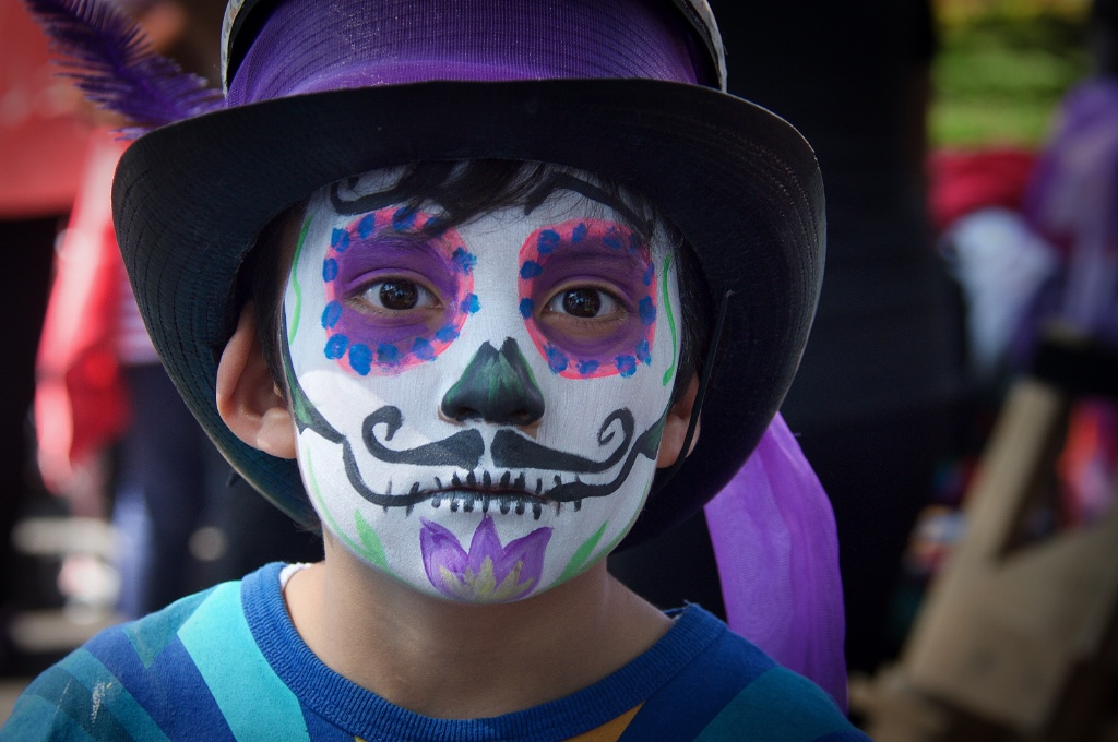 Day of the Dead in Coyoacan