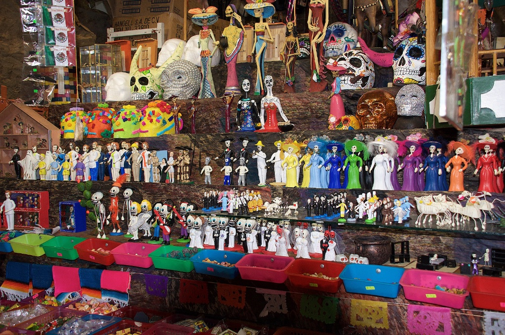 Day of the Dead shop