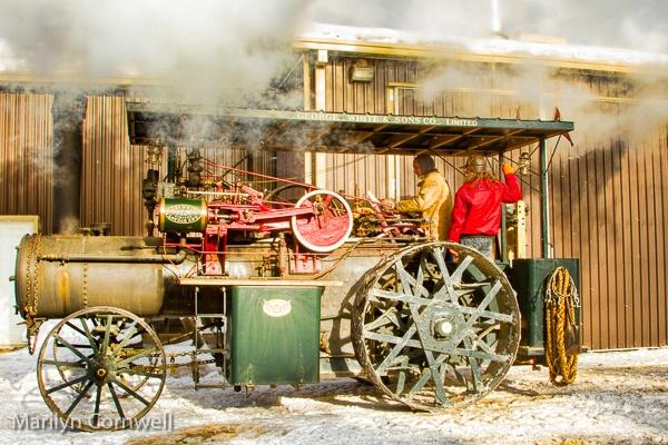 Tractor Steam