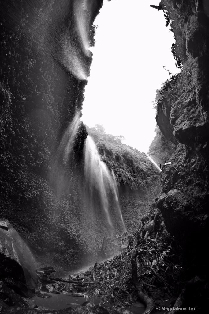 Madakaripura waterfall at Surabaya Indonesia