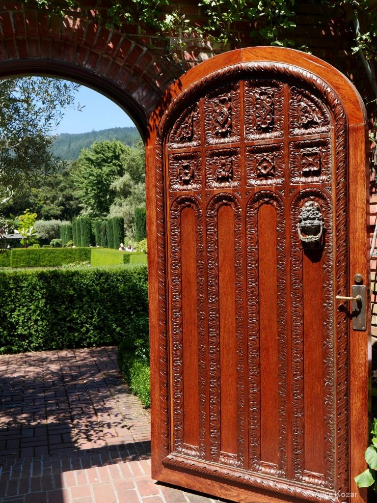Through the Garden Doorway