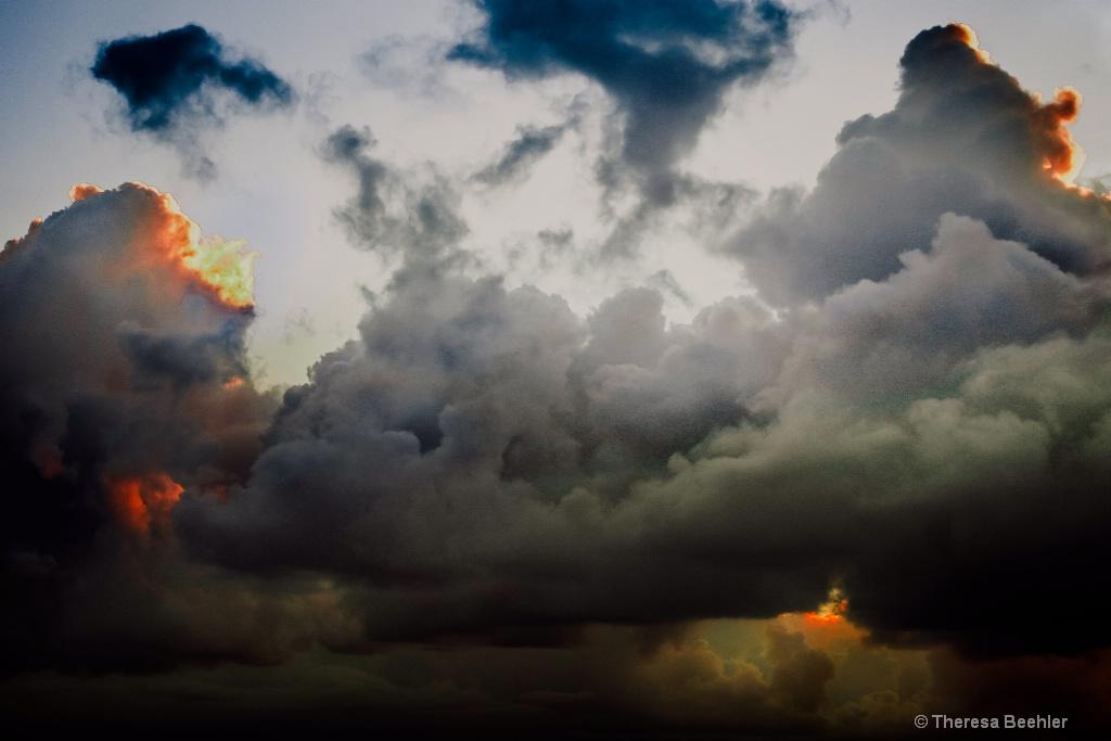 Puerto Rico Storm clouds