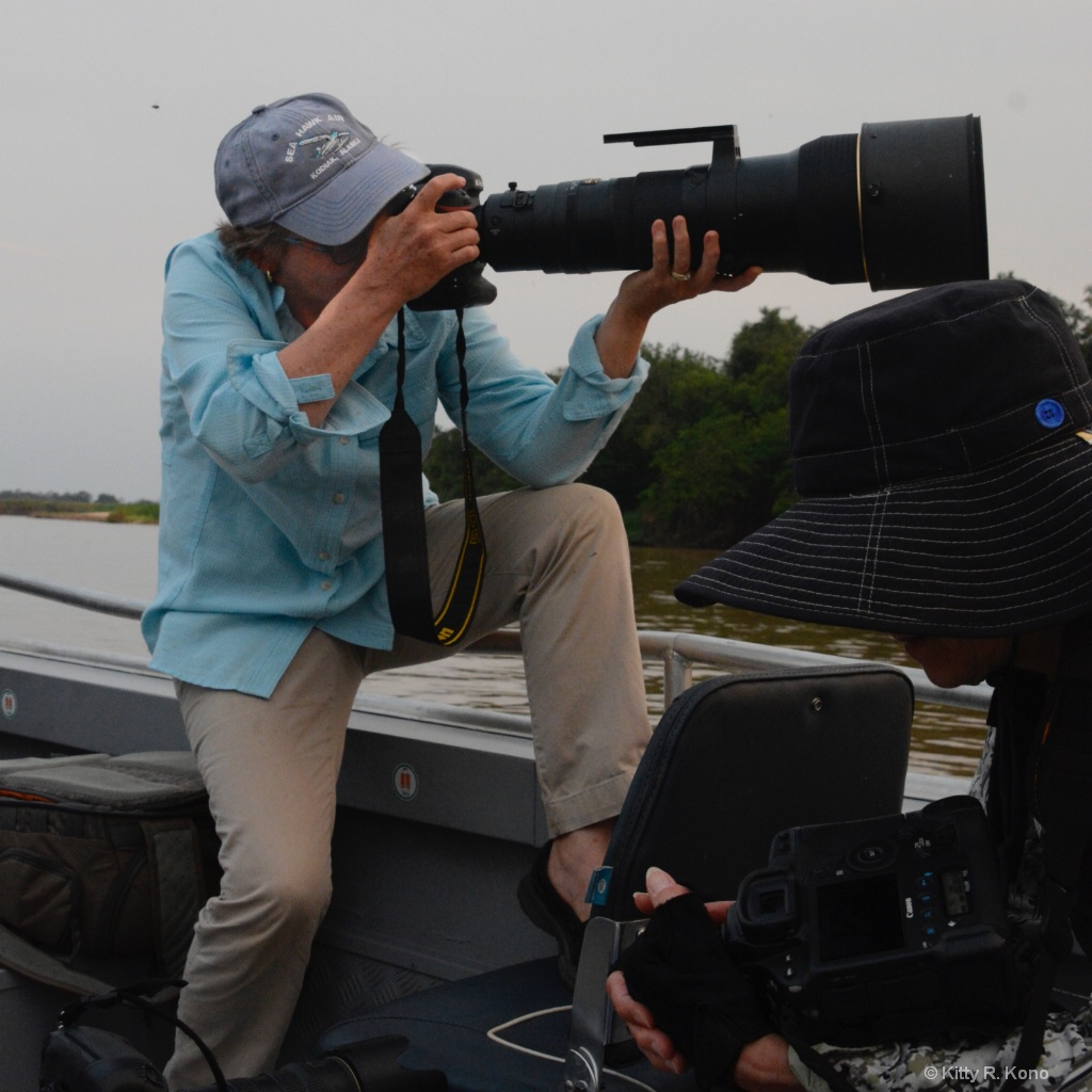 Your's Truly with the 600 mm Lens