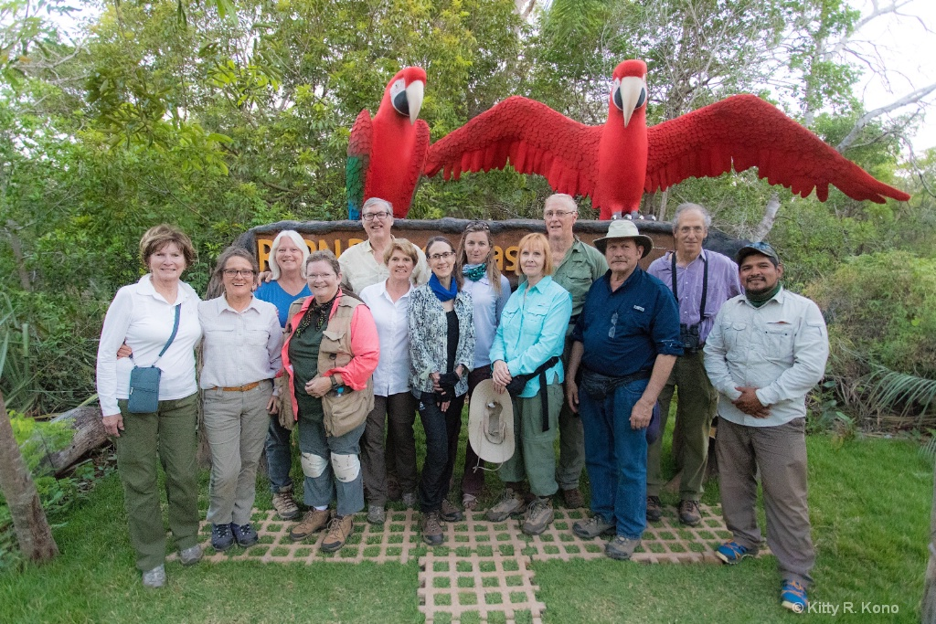 The Whole Crew from our Brazil Pantanal Trip