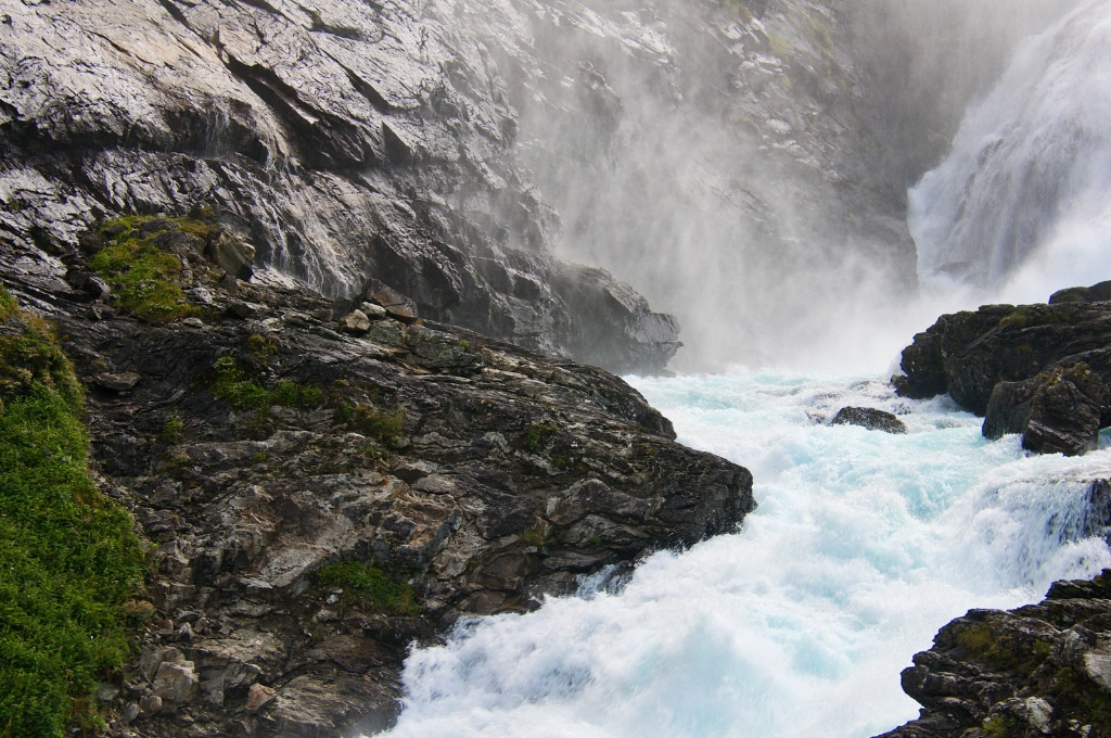 Blue Water Stream