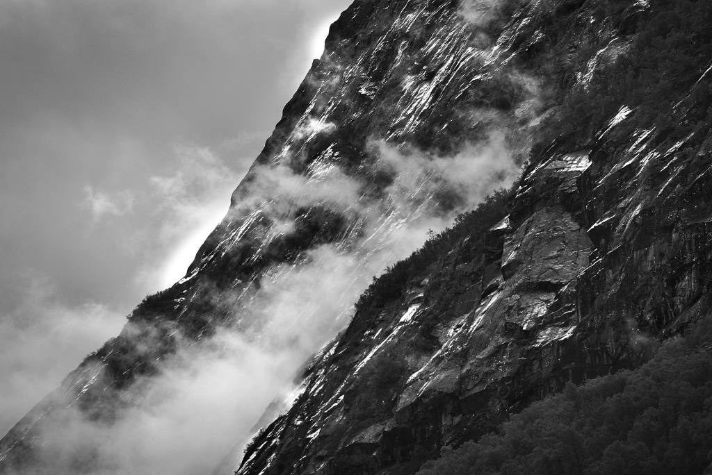 Clouds and Rocks