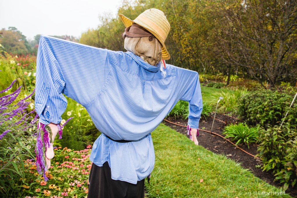 Scarecrow- Stan Hywet Gardens