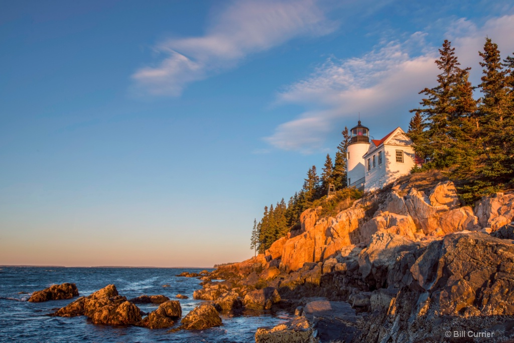 Bass Harbor Sunrise Acadia National Park