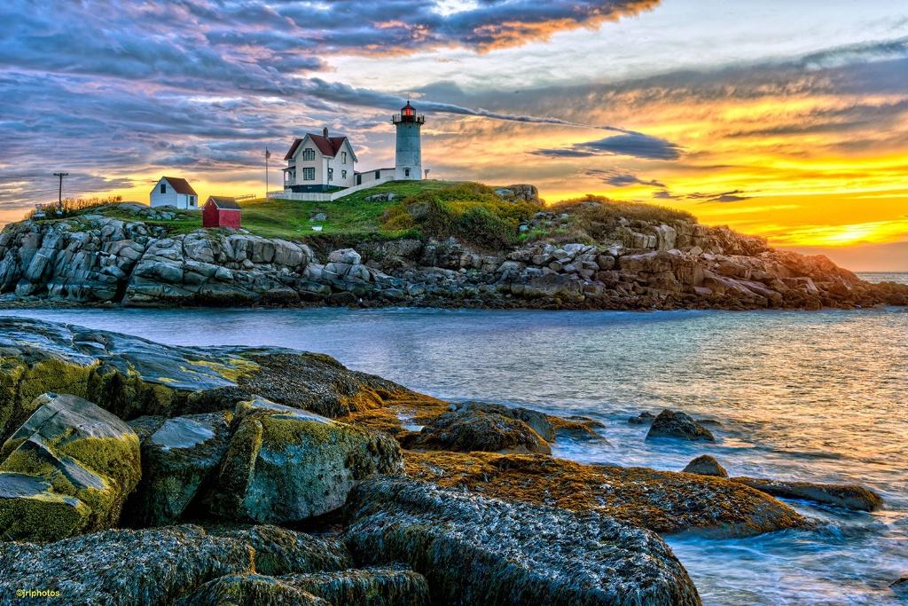 Sunrise at Nubble Lighthouse