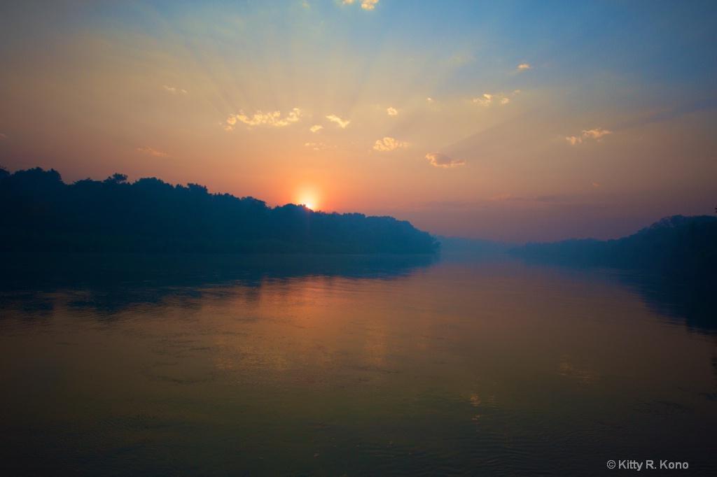 Sunrise on the Cuiaba River