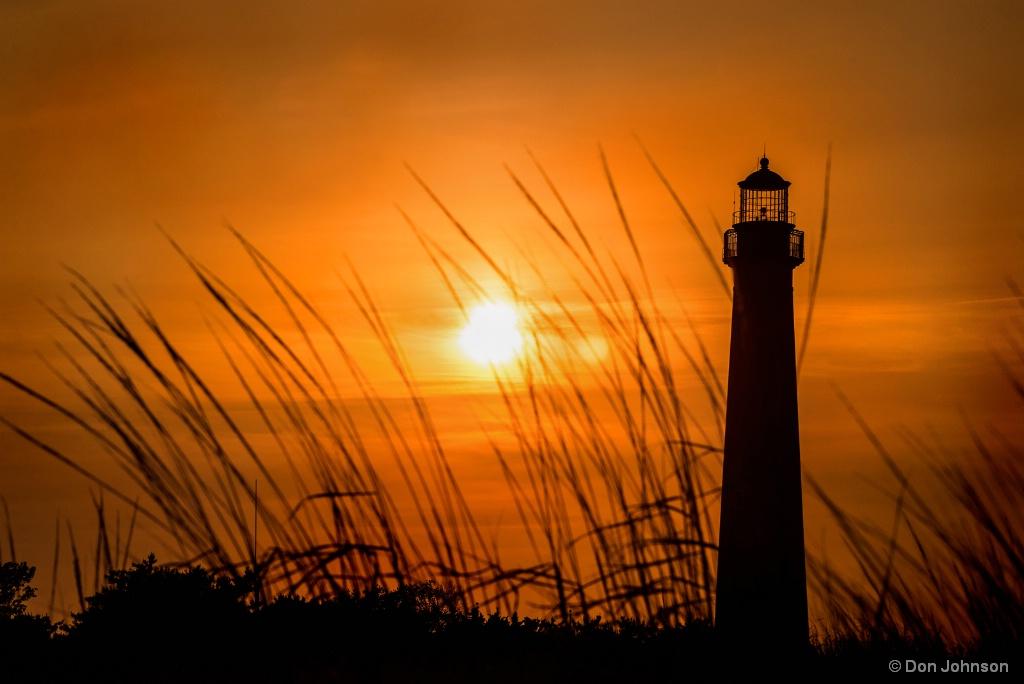 Sunset at CM Lighthouse 6-16-17 268
