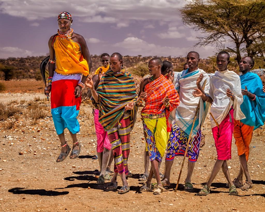 Samburu Warriors  6800