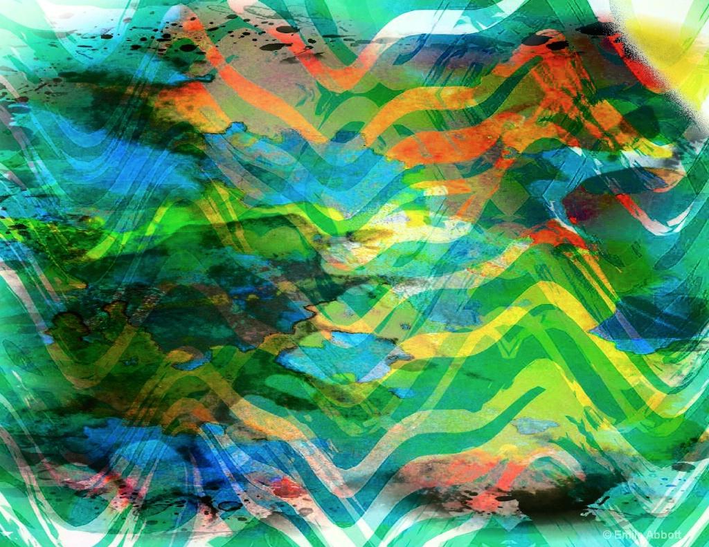 Zig Zag abstract