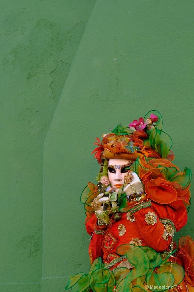 Venice Carnival: Color Series - Green Sensation