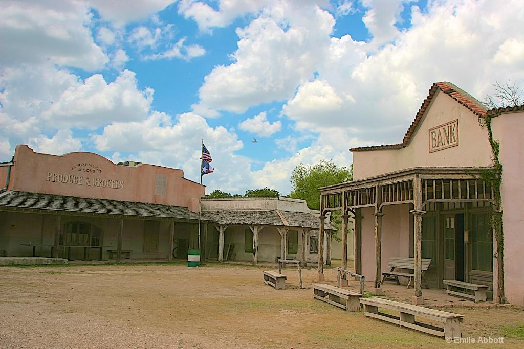 Street scene in Alamo Village