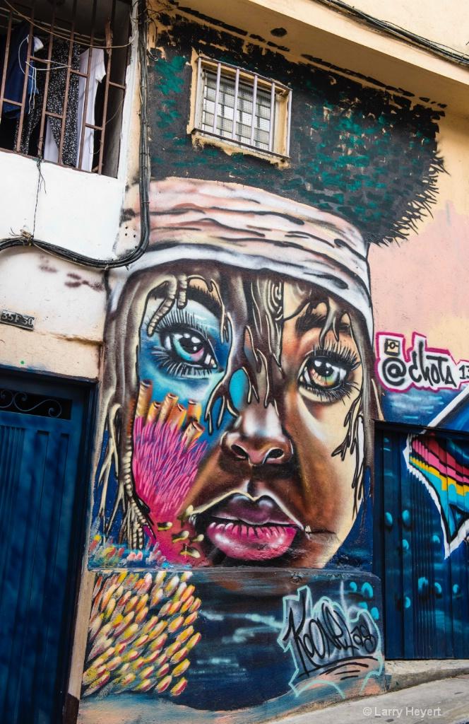 Street Art # 3-  Communa 13