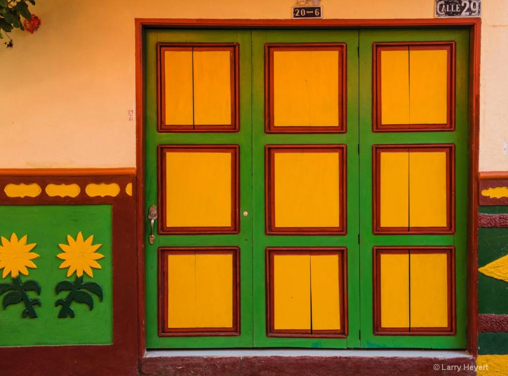 Colorful Door # 5