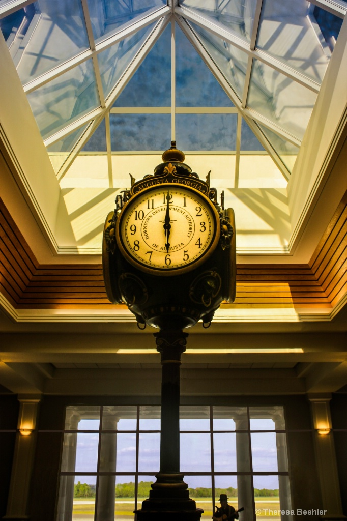 Augusta Airport Clock