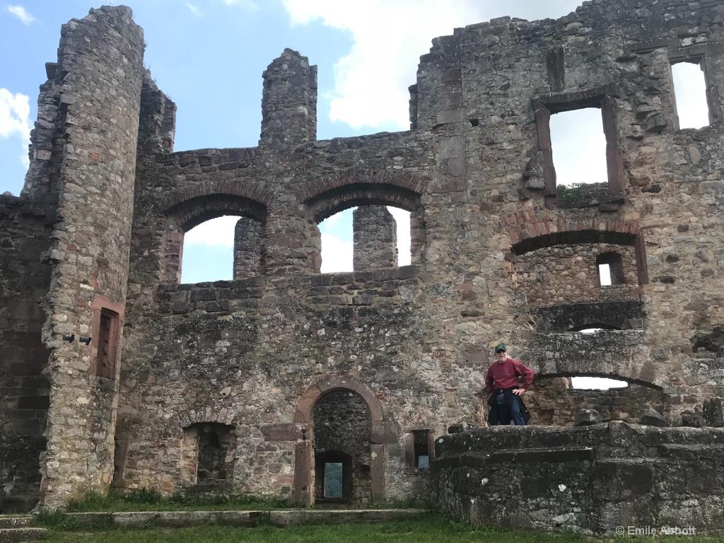 View inside castle