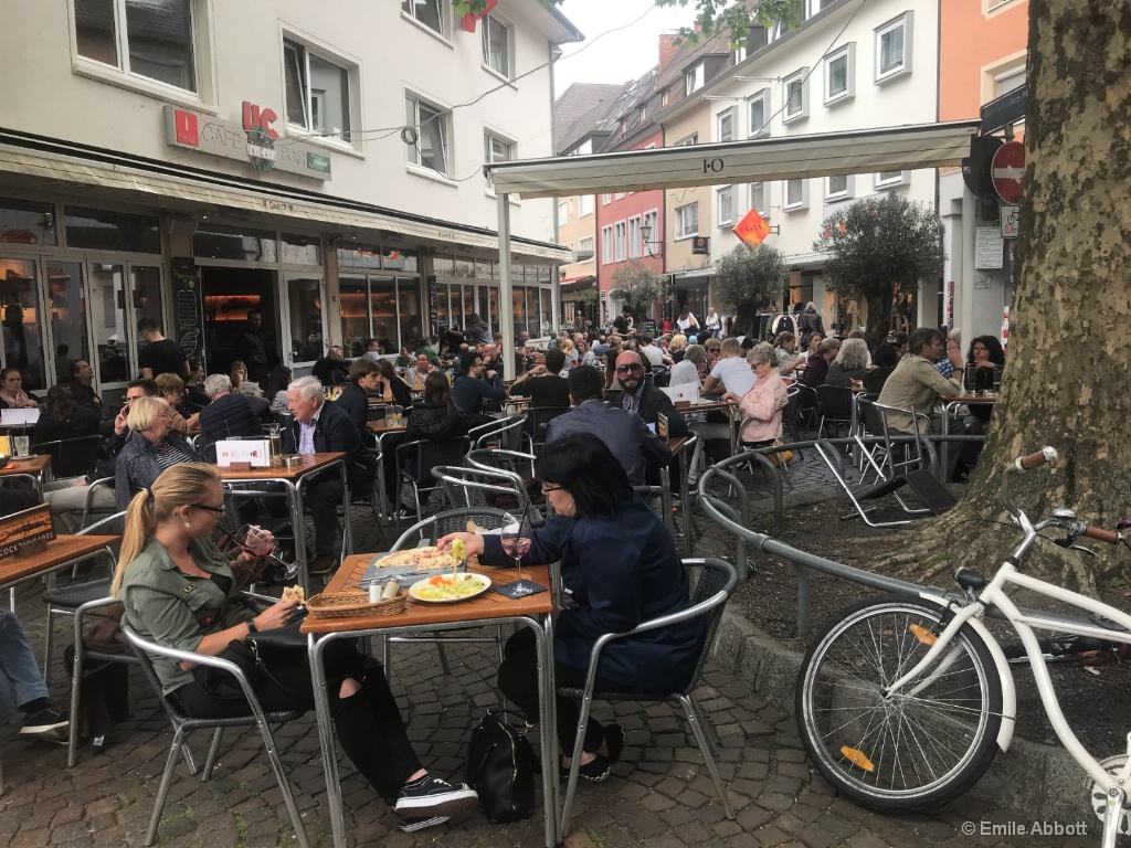 Lunchtime in Freiburg, Germany