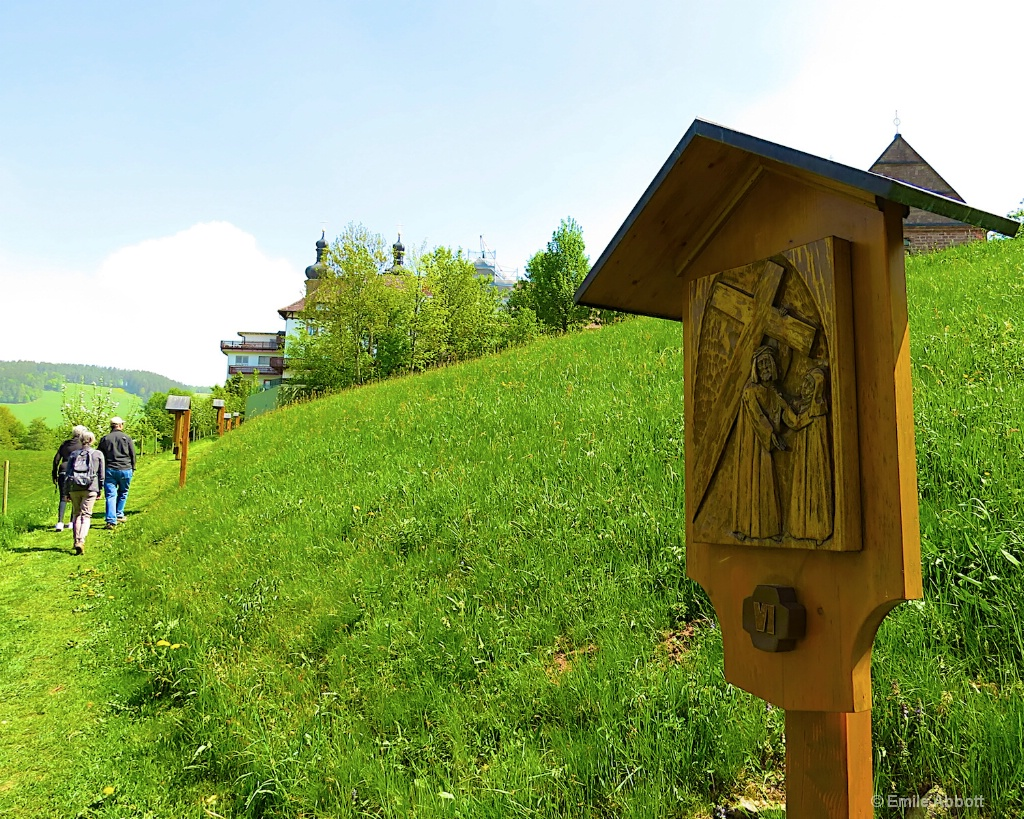 Hiking Stations of the Cross