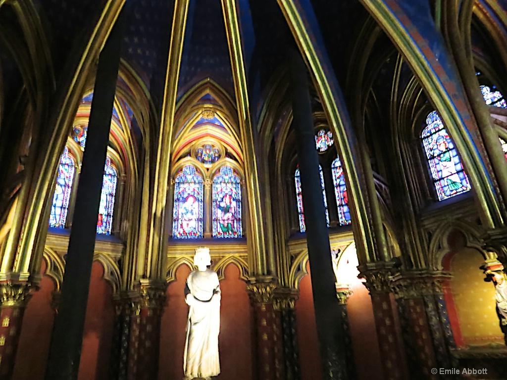 Nave in Sainte-Chapelle