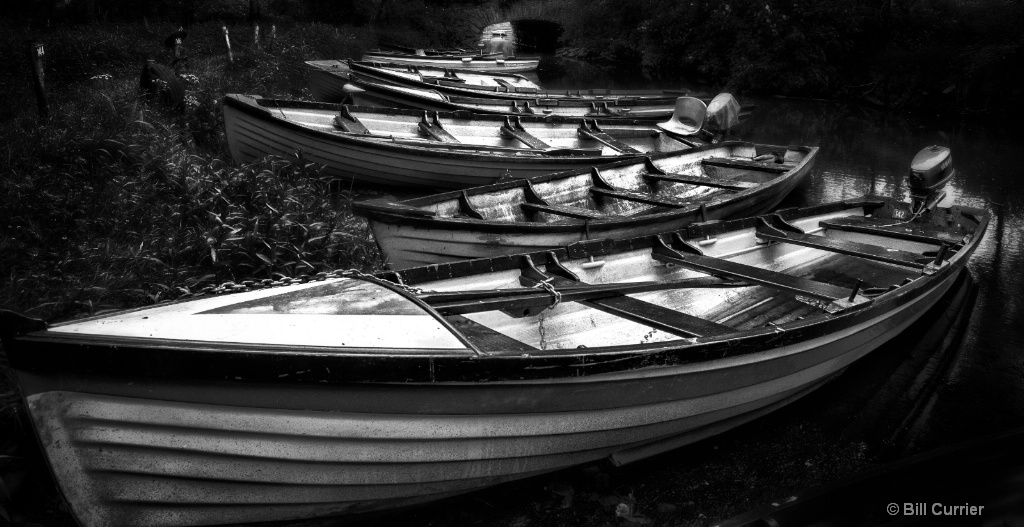 Boats at Ross Castle