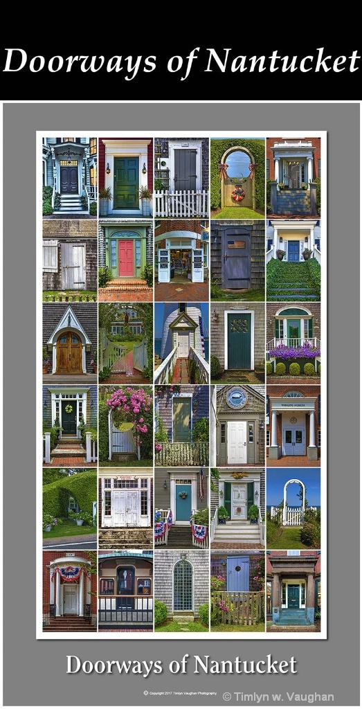 Fine Art Print - Doorways of Nantucket